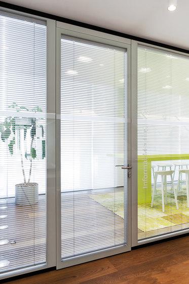 Structural glazing door by Feco | Internal doors