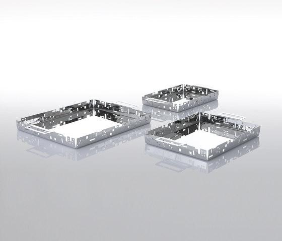 Citta vecchia tray x6 by Forhouse | Trays