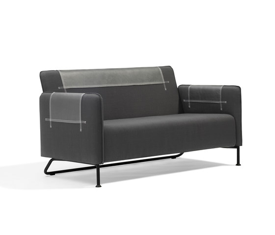 Taylor sofa by Blå Station | Lounge sofas