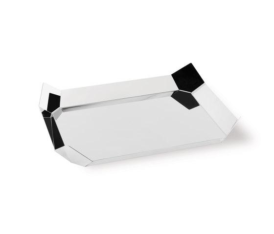 Poligono tray x4 by Forhouse | Bowls