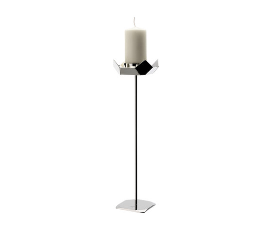 Poligono candle holder 300 by Forhouse | Candlesticks / Candleholder