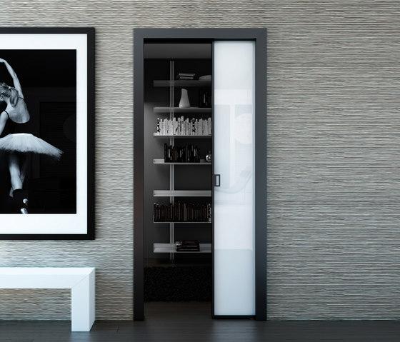 Alien di aico design porte scorrevoli interno muro - Porte scorrevoli per interno ...