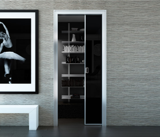 Alien | Slide-in-Wall Doors by Aico Design | Internal doors