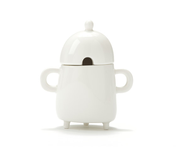Haphazard Harmony Sugar Pot by DHPH | Dinnerware