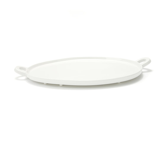 Haphazard Harmony Oval Tray by DHPH | Dinnerware