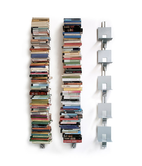 Totem | At-Wall Book Storage de Aico Design | Tablettes murales