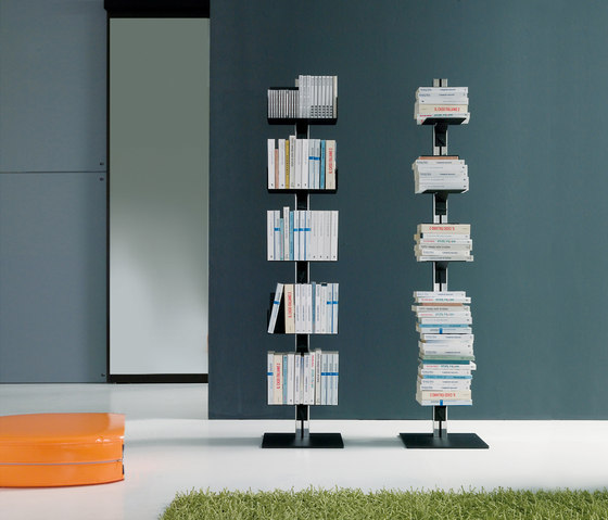 Totem | Free-standing Book Storage by Aico Design | Shelving