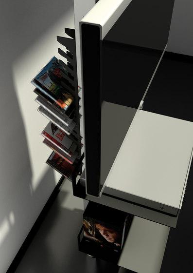 Totem di aico design porta libri a parete porta libri - Mobili porta dvd ...