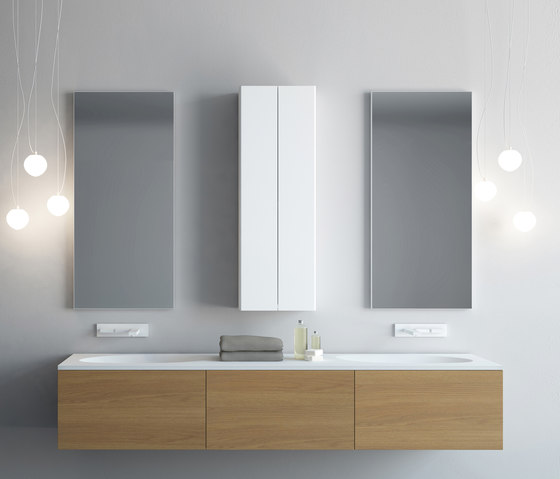 Verse double by Aico Design | Wall cabinets