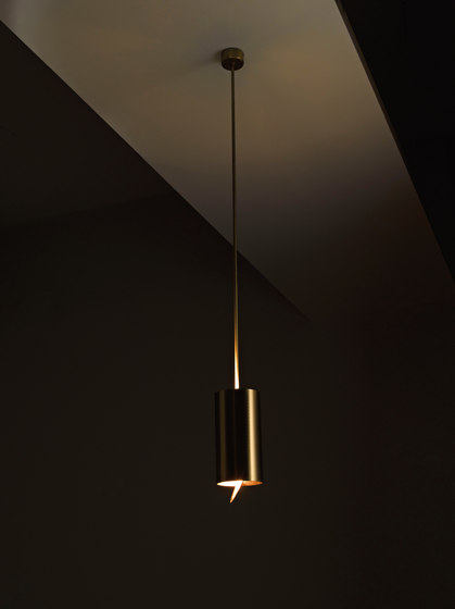 Elements | Tubo Hanging lamp MF 40 by Laurameroni | General lighting