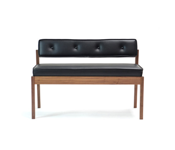 Acorn II Dining Bench by Bark | Upholstered benches