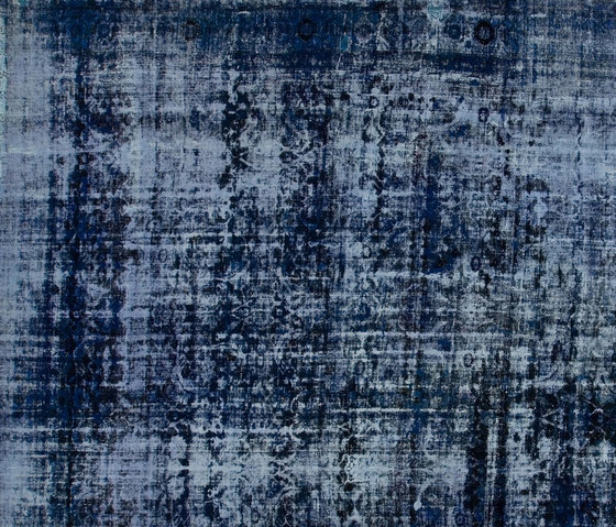 Decolorized dark blue by GOLRAN 1898 | Rugs / Designer rugs