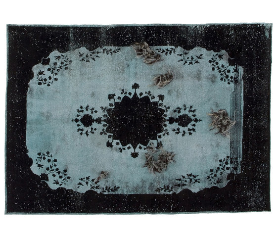 Decolorized Mohair black by GOLRAN 1898 | Rugs / Designer rugs