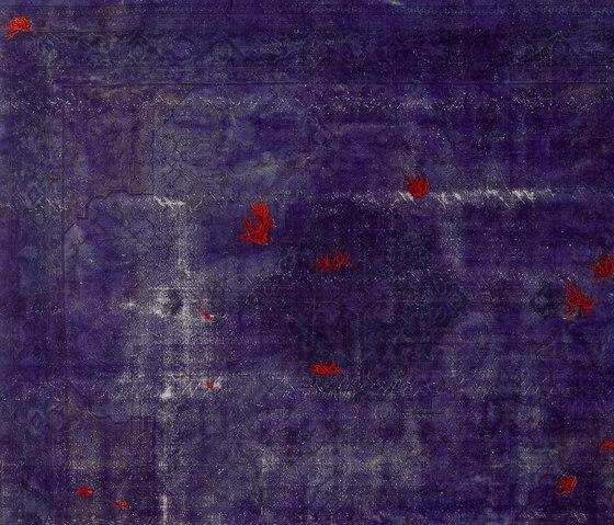 Decolorized Mohair dark purple by GOLRAN 1898 | Rugs / Designer rugs