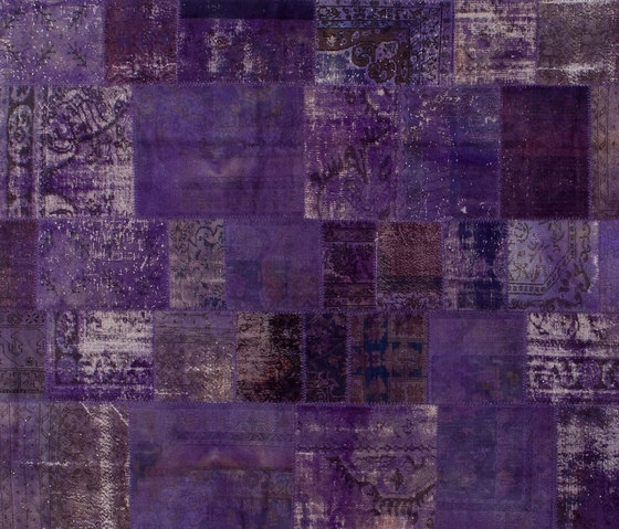 Patchwork purple by GOLRAN 1898 | Rugs / Designer rugs
