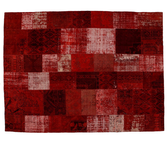 Patchwork red by GOLRAN 1898 | Rugs / Designer rugs