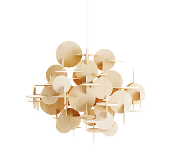 Bau Nature Large by Normann Copenhagen | Suspended lights