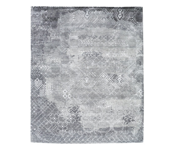 Squaredance - Fade to grey by REUBER HENNING | Rugs / Designer rugs
