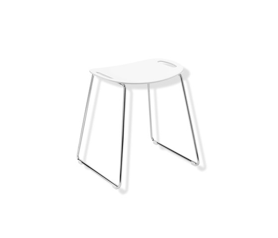 Shower stool | 950.51.30098 by HEWI | Stools / Benches