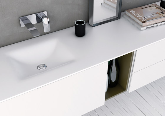 Strato Bathroom Furniture Set 12 by Inbani | Vanity units
