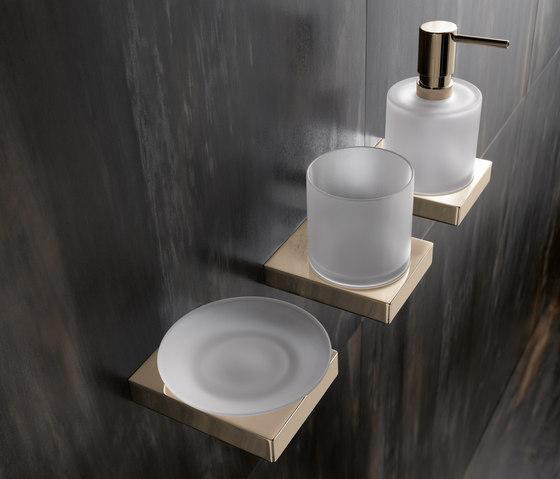 Soap dispenser/Tumbler/Soap dish by HEWI | Soap dispensers
