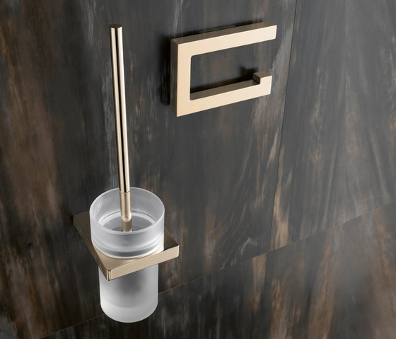 Toilet roll holder/Toilet brush unit by HEWI | Paper roll holders