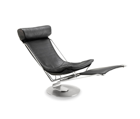 Interdane Flexible Armchair leather de Stouby | Fauteuils inclinables