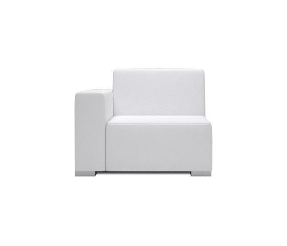 Block 80 1 Seat 1 arm di Design2Chill | Elementi di sedute componibili