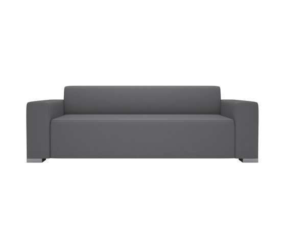 Block 90 3 Seater 2 arm by Design2Chill | Garden sofas