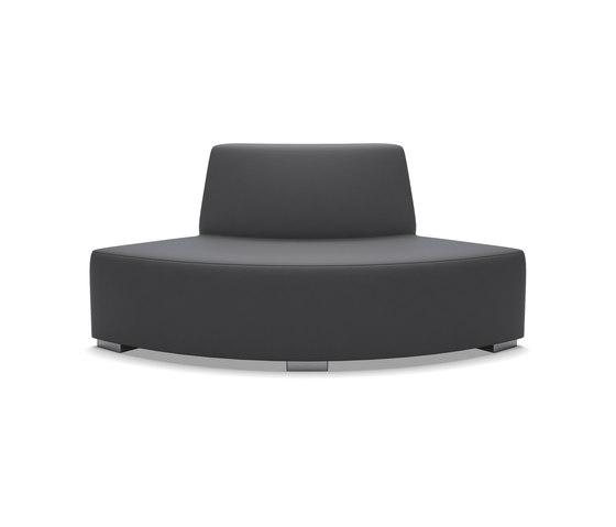 Block 80 Quarter round contra de Design2Chill | Elementos asientos modulares