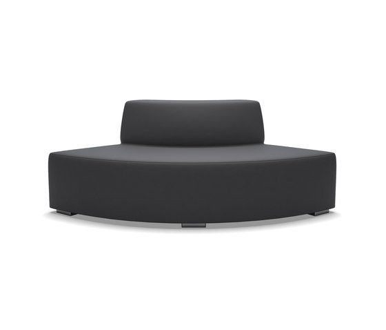 Block 90 Quater round contra by Design2Chill | Garden benches