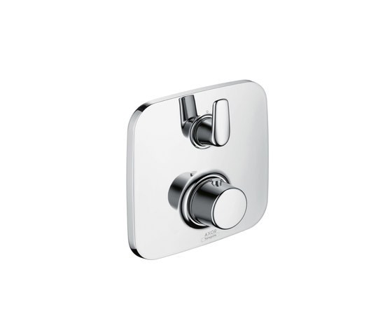AXOR Bouroullec thermostatic mixer for concealed installation with shut-off|diverter valve by AXOR | Shower taps / mixers