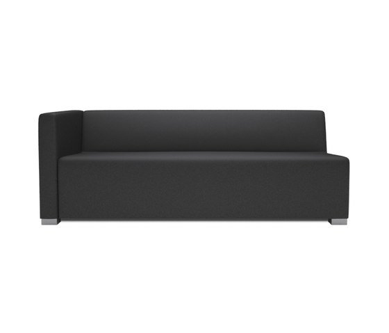 Square 3 Seater 1 arm by Design2Chill   Modular seating elements