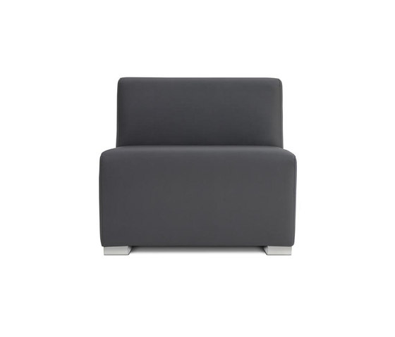 Square 1,5 Seat by Design2Chill | Modular seating elements
