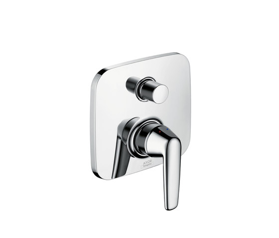 AXOR Bouroullec single lever bath mixer for concealed installation with integrated security combination by AXOR | Bath taps