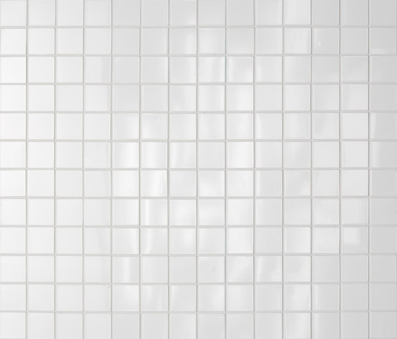 Maiolica Bianco by Casamood by Florim   Ceramic mosaics