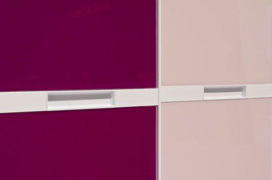 S 800 panel-dividing rail by raumplus | Built-in cupboards