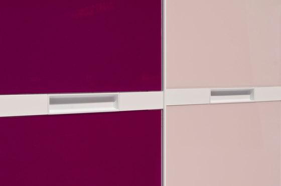 S 800 panel-dividing rail de raumplus | Armarios empotrados