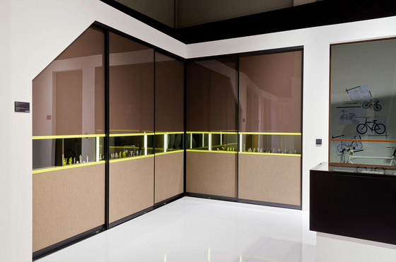 S 720 sliding door system by raumplus | Built-in cupboards