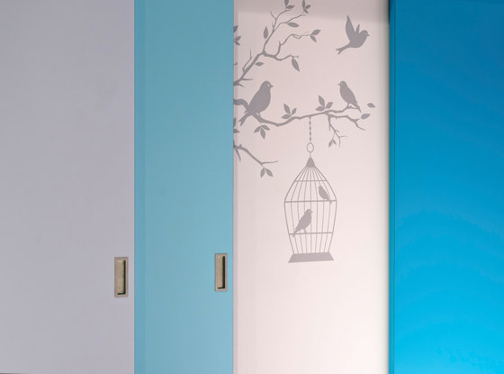 Laminated panels de raumplus | Wardrobe doors