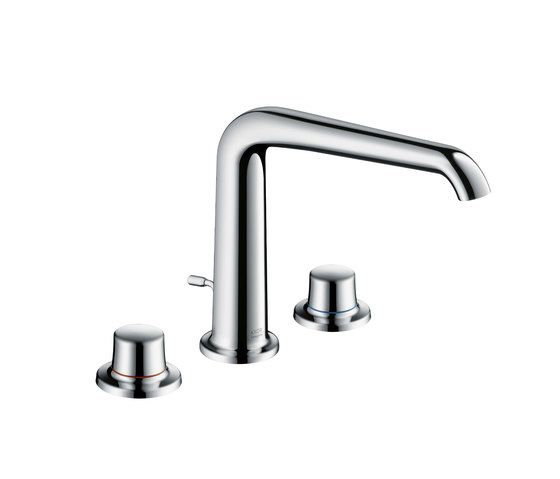 AXOR Bouroullec 3-hole basin mixer 195 DN15 by AXOR | Wash-basin taps