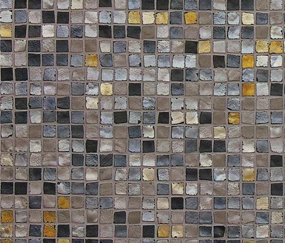 Vetro Neutra Melange Scuro de FLORIM | Mosaïques verre