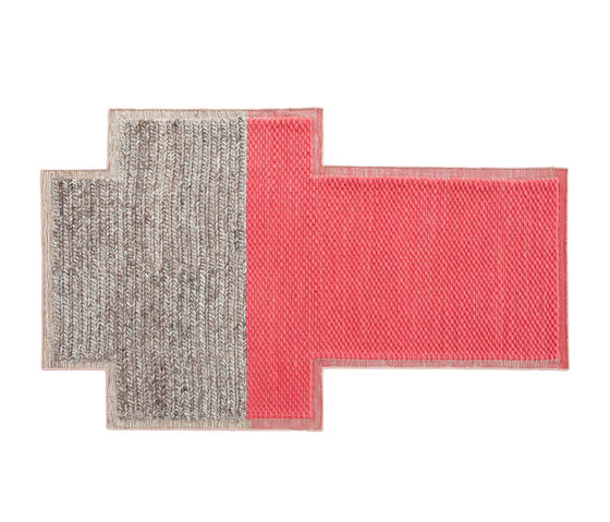 Mangas Space Rug Plait Coral 2 by GAN | Rugs / Designer rugs