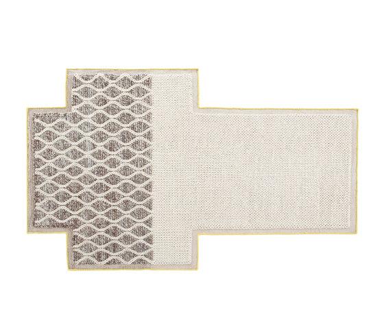 Mangas Space Rug Rhombus Ivory 4 by GAN | Rugs / Designer rugs