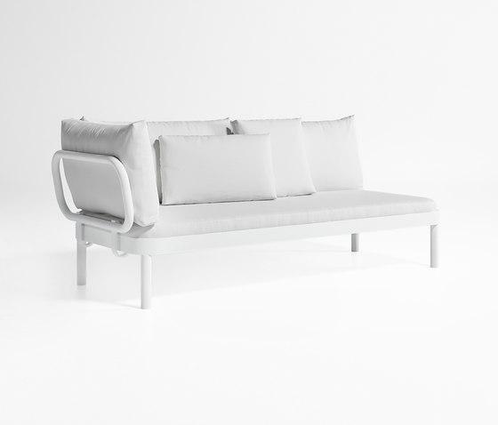Tropez Sofa Modular 1 by GANDIABLASCO | Garden sofas