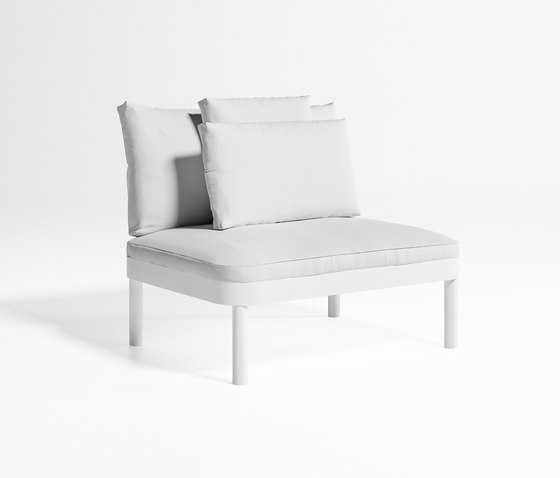 Tropez Sofa Modular 3 by GANDIABLASCO | Garden armchairs