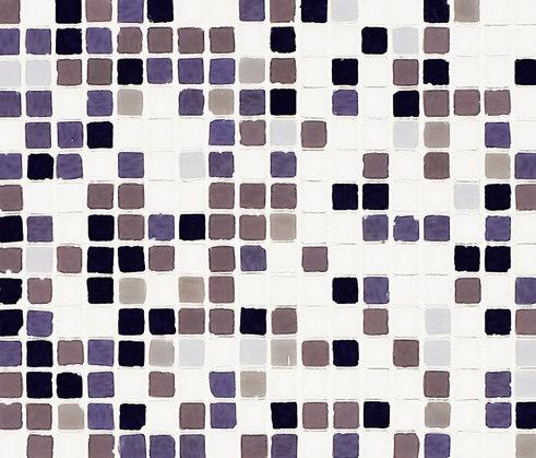 Vetro Chroma Nuance Lila by Casamood by Florim | Glass mosaics