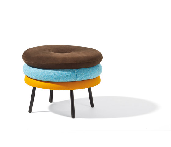 Little Tom stool de Lampert | Poufs