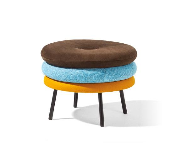 Little Tom stool de Richard Lampert | Poufs
