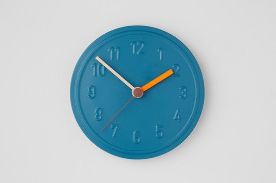Alu Alu wall clock de Lampert | Horloges